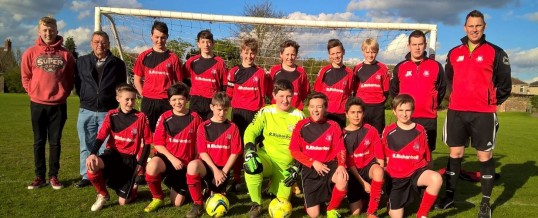 Sponsorship of Finedon Junior Football Team